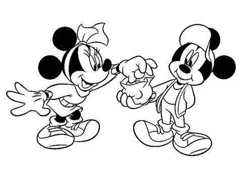 untuk anak mewarnai gambar mickey mosue untuk anak anak