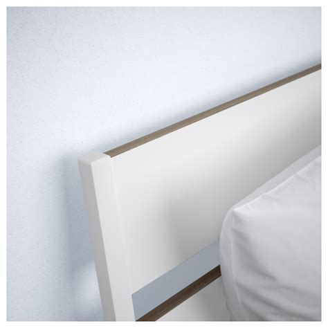 Headboard Reading L Trysil Bed Frame White L 246 Nset Standard Ikea