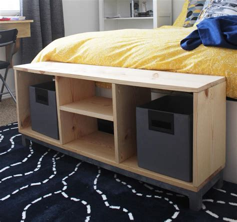 nornas bench with storage diy storage bench ikea nornas look alike buildsomething com