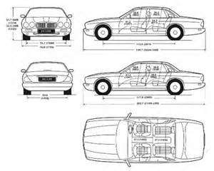 Jaguar Dimensions The Blueprints Blueprints Gt Cars Gt Jaguar Gt Jaguar Xj