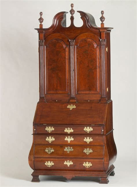 bombe desk file bombe desk and bookcase 1753 benjamin frothingham jr