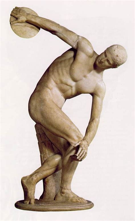 greek sculpture ancient greece greek art discobolos