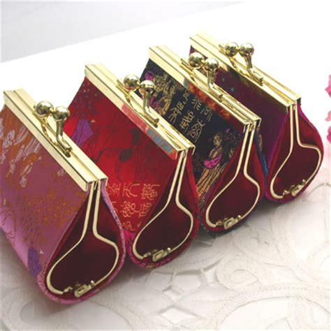 asian wedding favours asian coin purse favors asian theme wedding favors