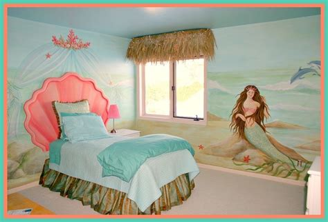 little mermaid bedroom mermaid bedroom for little girls beach style nursery