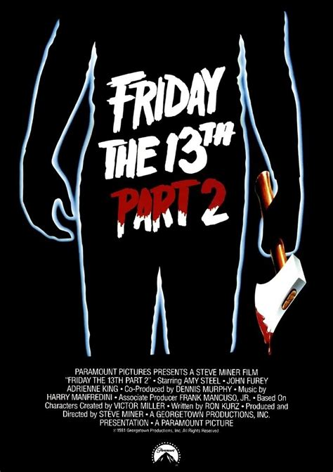film bagus part 2 the history of the friday the 13th part 2 poster
