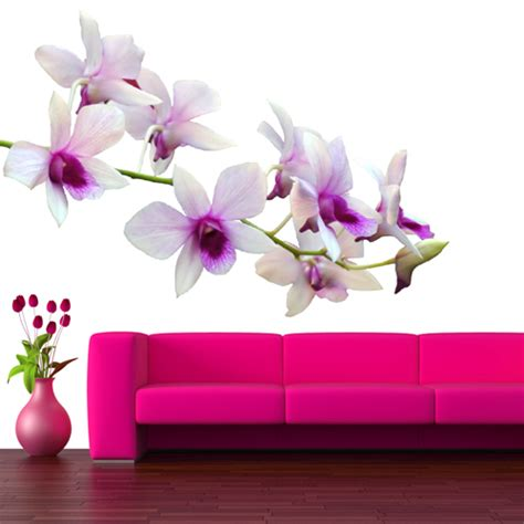 orchid wall stickers wallstickers folies orchid wall stickers