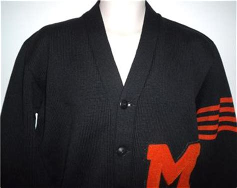 College Letter Sweater Vintage 1940s Varsity Letterman College Wool Letter Cardigan Sweater Mens M Ebay
