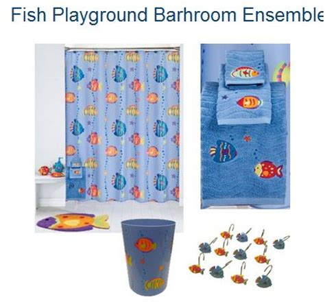get the 9 piece quot fish playground quot bathroom set for only