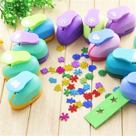 shaped paper cutters for crafts aliexpress buy puncher scrapbooking punches shaped