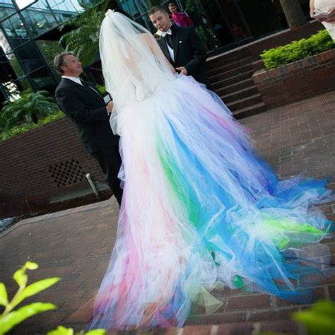multi color wedding dress multi color wedding dress blomwedding