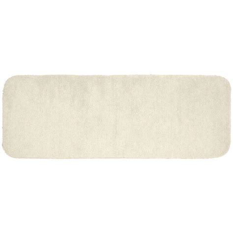 60 Inch Bath Rug Runner Upc 096577031370 Garland Rugs Glamor 60 Inch Runner Bath Rug Ivory Upcitemdb