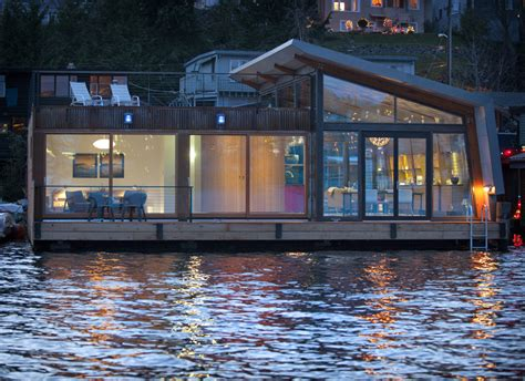 floating houses floating home interiors for west coast living