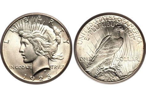 price in dollars peace silver dollar values and prices
