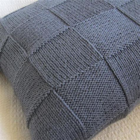 easy knit cushion cover pattern 17 best images about knitting on free pattern