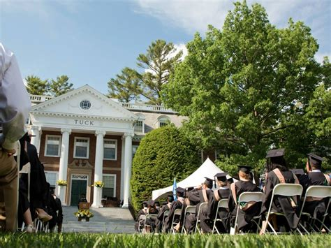 Dartmouth College Tuck Mba by Business Schools Where Graduates Get Paid The Most