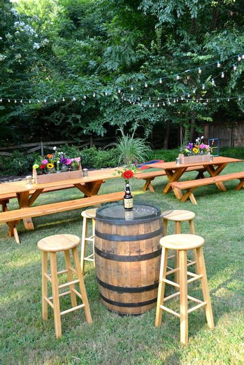 how to set up a backyard wedding best 25 picnic table decorations ideas on pinterest cing kitchen twin sheets