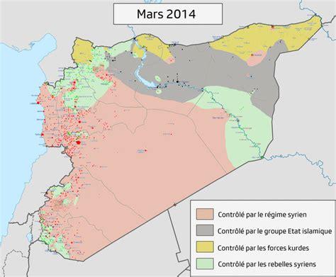 syrian war map syrian civil war march 2014 march 2017 maps