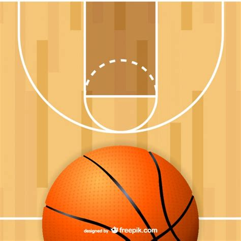 basketball court clipart basketball court free vector 123freevectors