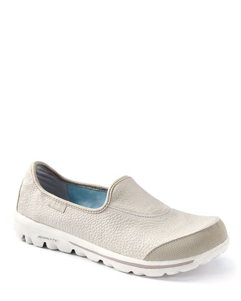wide width quot go walk quot skechers textured shoes penningtons