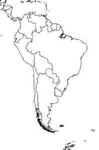 South America Country Outlines by Blank Outline Map Of South America Schools At Look4