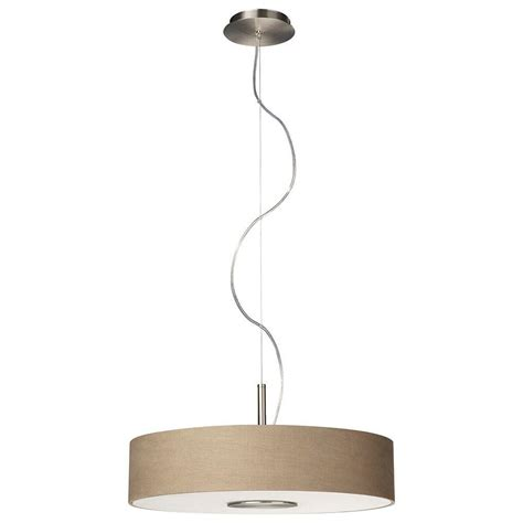 3 light hanging pendant philips 3 light matte chrome hanging pendant