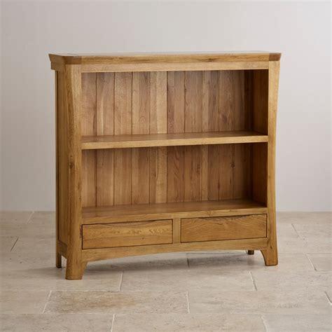 orrick wide bookcase solid oak oak furniture land