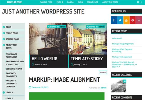 wordpress templates 2014 free http webdesign14 com