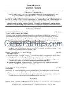 General Manager Resume Exle by General Manager Resume Sle Exle