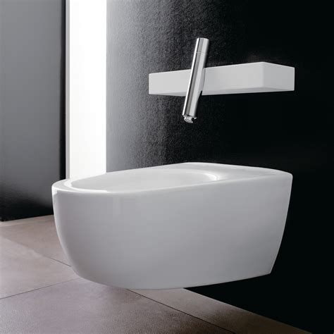 rubinetto per bidet miscelatore per bidet a muro monocomando linea blok by