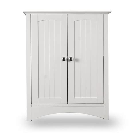 White Bathroom Cabinet White Sink Shaker Style Bathroom Cabinet At Home