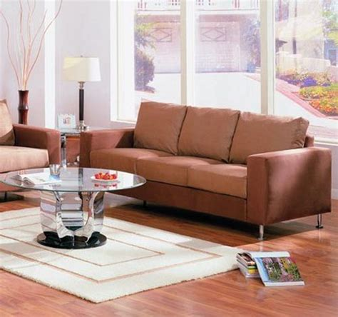 brown living room sofa modern house