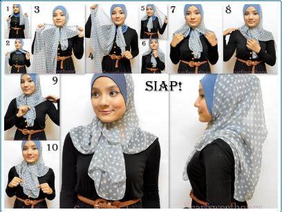 tutorial jilbab lapis silang tutorial jilbab cara memakai jilbab buat lebaran