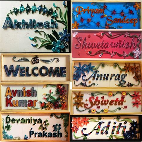 name board design for home online name plates plates and names on pinterest