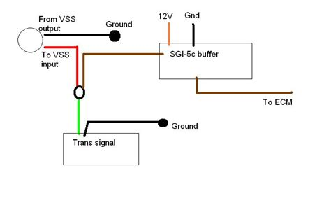 wiring diagram for autometer tach circuit diagrams msd