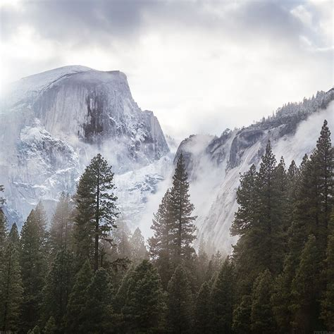 apple yosemite wallpaper for ipad freeios7 me60 yosemite snow white mountain nature