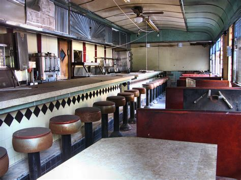 Diner Interior by Falls Diner Interior I Stopped At The Falls Flickr