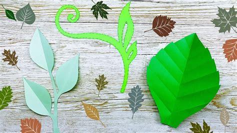 decorar hojas papel como hacer hojas de papel flores gigantes de papel