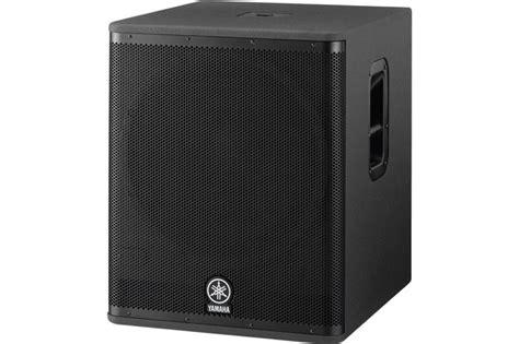Speaker Yamaha Dsr 118 yamaha dsr118w active subwoofer heid
