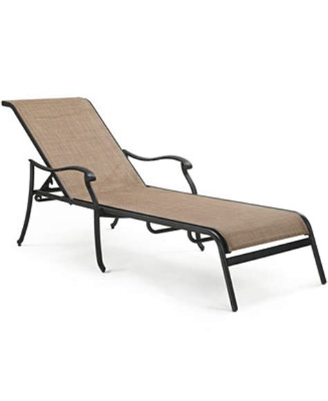 macys chaise vintage cast aluminum outdoor chaise lounge furniture
