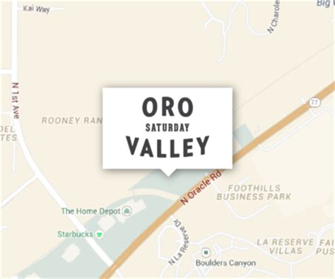 the home depot oro valley