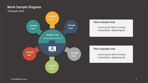 Work Sle Powerpoint Diagram Slide Ocean Deloitte Powerpoint Template 2017