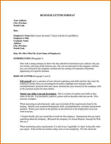letter format for formal letter writing formal letter writing pdf formal letter template