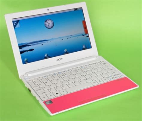 Laptop Acer Happy One acer aspire one happy netbook unboxed in italy liliputing