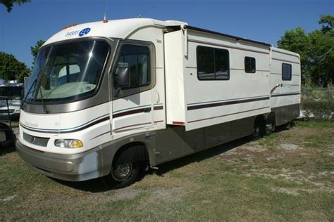 Rambler Floor Plan by 1997 Holiday Rambler Vacationer 36wgs Class A Gas
