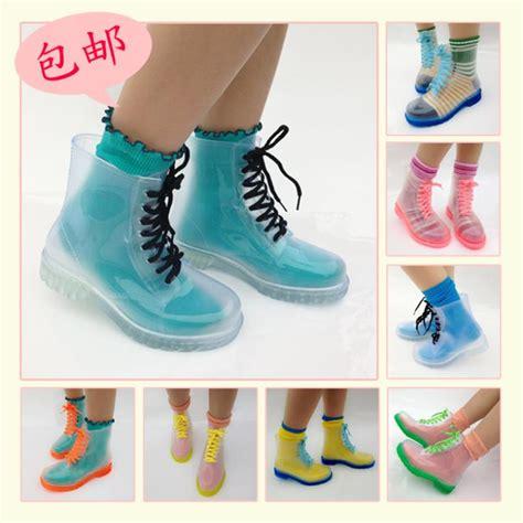 imagenes de zapatillas kawaii kawaii clothing botas transparentes clear boots wh240