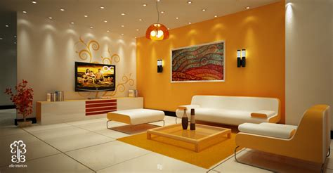 colorful walls living rooms yellow room interior inspiration 55 rooms for your viewing pleasure