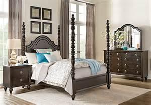 high bedroom sets westerleigh oak 7 pc king high poster bedroom bedroom