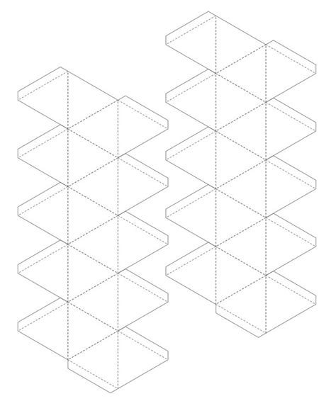 icosahedron template printable isometric drawing paper search results