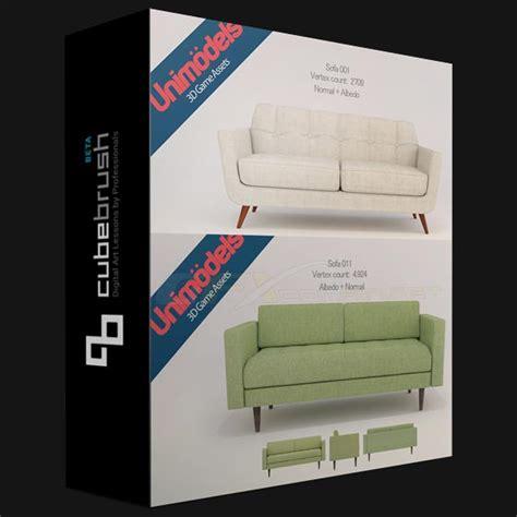 cubebrush unimodels sofas vol scandinavian design  ue uparchvip