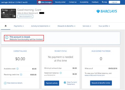 Why Can't I Remove Closed Barclays Credit Card from my ... My Online Account